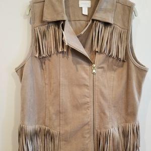 chiccos size 2 medium western fringe vest